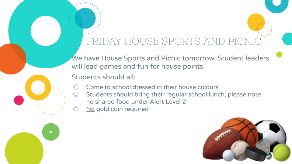 Friday House Fun Day